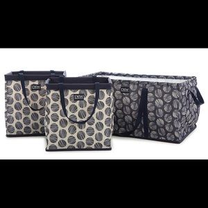 3-Piece Collapsable Tote Bags